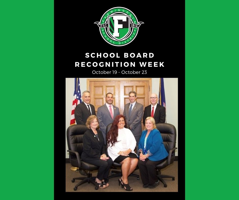 Thank You To The Farmingdale Board of Education