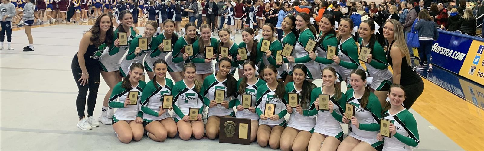 FHS Competition Cheer Team Wins Nassau...