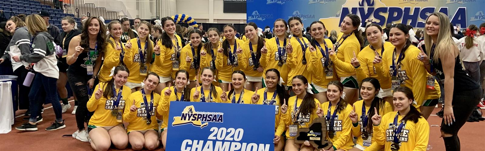 FHS Competition Cheer Team Wins State...
